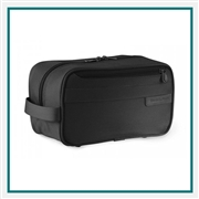 Briggs & Riley Classic Toiletry Kit 110 Embroidered Logo