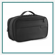 Briggs & Riley Expandable Toiletry Kit 115X Embroidered Logo