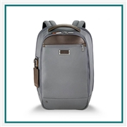 Briggs & Riley Medium Slim Backpack Custom