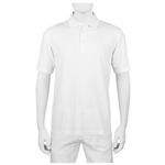 Bugatchi Modal Blend Three Button Polo with Custom Embroidered