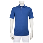 Bugatchi Modal Three Button Polo Embroidered