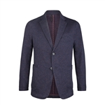 Bugatchi Cotton Blend Blazer Custom Embroidered