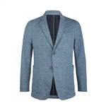 Bugatchi Cotton Blazer Custom Embroidered