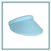KATE LORD Clip-On Solid Visor with Custom Embroidery, KATE LORD Custom Visors, KATE LORD Custom Logo Headwear