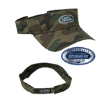 AHEAD Lightweight Camo Visor with Custom Embroidery, AHEAD Custom Camo Visors, AHEAD Custom Logo Gear
