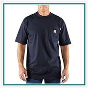 Carhartt Men's Flame-Resistant Carhartt Force Short-Sleeve T-Shirt 100234 with Custom Embroidered, Carhartt Custom Flame-Resistant T-Shirts
