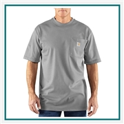 Carhartt Men's Flame-Resistant Carhartt Force Short-Sleeve T-Shirt 100234 with Custom Embroidered, Carhartt Custom Flame-Resistant T-Shirts, Carhartt Custom Logo Gear
