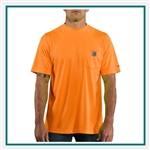Carhartt Men's Force Color Enhanced Short-Sleeve T-Shirt 100493 Custom Embroidered, Carhartt Customized T-Shirts, Carhartt Corporate Sales