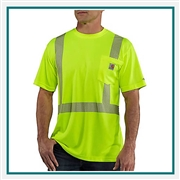 Carhartt Men's Force High-Visibility Short-Sleeve Class 2 T-Shirt 100495 with Custom Embroidered, Carhartt Custom High Visibility T-Shirts, Carhartt Custom Logo Gear