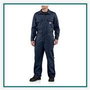 Carhartt Men's Flame-Resistant Traditional Twill Coverall 101017 with Custom Embroidery, Custom Logo Carhartt Coveralls, Embroidered Carhartt Coveralls