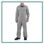 Carhartt Men's Flame-Resistant Traditional Twill Coverall 101017 with Custom Embroidery, Custom Extended Carhartt Coveralls, Embroidered Carhartt Coveralls