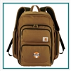 Carhartt Signature Deluxe Work Compu-Backpack 1889-41 , Carhartt  Custom Packs, Promo Back Bags