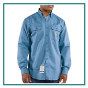 Carhartt Men's Flame-Resistant Twill Shirt With Pocket Flap FRS160 with Custom Embroidery, Carhartt Custom Flame Resistant Shirts, Carhartt Custom Logo Gear