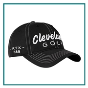 Cleveland Golf 588 RTX Cap with Custom Embroidery, Cleveland Golf Custom Embroidered Golf Caps, Cleveland Golf Custom Caps, Embroidered Cleveland Golf Caps