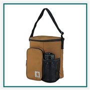 Carhartt Vertical Lunch Cooler with Bottle 502100, Carhartt Promotional Cooler Bags, Carhartt Custom Logo