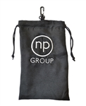 Suede Cloth Pouch,  Valuables Pouch with Custom Logo, Golf Tournament  Gifts,  Golf Gifts