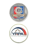 Smooth Finish Enamel Coin with Custom Logo, Custom Poker Chip Ballmarkers, Custom Logo Ballmarkers, Custom Ballmarkers, Promotional Ballmarkers