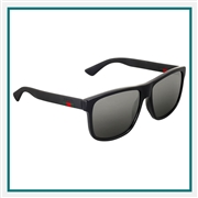 Gucci Men's Square-frame Sunglasses Corporate Branding