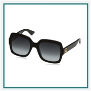 Gucci Women's Oversize Square Sunglasses Corporate Logo