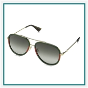 Gucci Aviator Sunglasses Co-Branded