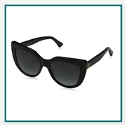 Gucci Women's Cat Eye Sunglasses Personalized