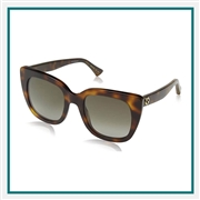 Gucci Women's Cat Eye Sunglasses Custom Branded