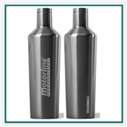 Corkcicle 16 Oz. Metallic SS Canteen Engraved Custom Logo