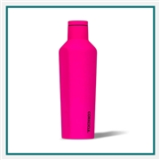 Corkcicle 16 Oz. Neon Lights SS Canteen Engraved Custom Logo