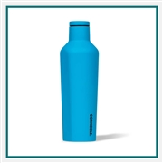 Corkcicle 16 Oz. Neon Lights SS Canteen Printed Corporate Logo