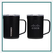 Corkcicle Coffee Mug Engraved Custom Logo