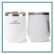 Corkcicle 12 Oz. Classic Stemless Imprinted Logo