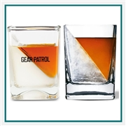 Corkcicle Whiskey Wedge Imprinted Corporate Logo