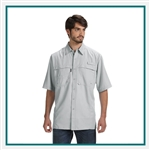 Dri Duck Adult Short-Sleeve Fishing Shirt  D4406, Dickies Corporate Workwear, Dickies Custom Logo Workwear