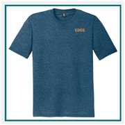 District Made Mens Perfect Tri Crew Tee DM130 with Custom Embroidery, Custom Embroidered District Made T-Shirts, District Made DM108 T-Shirt Best Price