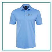 Dunning Classic Solid Pique Golf Polo Custom Logo
