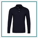 Dunning Vance Long Sleeve Golf Shirt Custom Logo