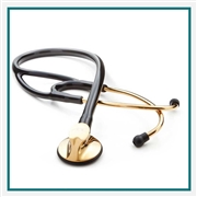 Custom Engraved Gold Stethoscope