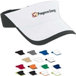 AHEAD Textured Poly Visor with Custom Embroidery, AHEAD Custom Golf Visors, AHEAD Custom Logo Gear