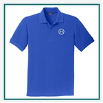 Eddie Bauer Men's Cotton Pique Polo EB100 with Custom Embroidery, Eddie Bauer Custom Cotton Polos, Eddie Bauer Custom Logo Gear