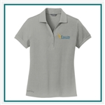 Eddie Bauer Ladies Cotton Pique Polo EB101 with Custom Embroidery, Eddie Bauer Custom Cotton Polos, Eddie Bauer Custom Logo Gear