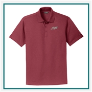 Eddie Bauer Men's Performance Pique Polo EB102 with Custom Embroidery, Eddie Bauer Custom Performance Polyester Polos, Eddie Bauer Custom Logo Gear