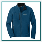 Eddie Bauer Fleece Jacket Logo Embroidery