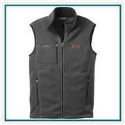 Eddie Bauer Fleece Vest Embroidered