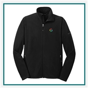 Eddie Bauer Men's Full-Zip Microfleece Jacket Corporate Logo