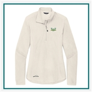 Eddie Bauer 1/2-Zip Microfleece Custom Embroidered