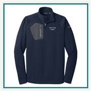 Eddie Bauer Men's 1/2-Zip Performance Fleece EB234 with Custom Embroidery, Eddie Bauer Custom Fleece Pullover, Eddie Bauer Co-Branding