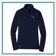 Eddie Bauer Ladies 1/2-Zip Fleece Base Layer EB237 with Custom Embroidery, Eddie Bauer Corporate Fleece, Eddie Bauer Business Wear