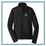 Eddie Bauer Men's Highpoint Fleece Jacket EB240 with Custom Embroidery, Eddie Bauer Custom Fleece Jackets, Eddie Bauer Custom Logo Gear
