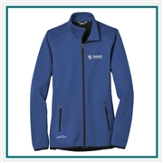 Eddie Bauer Ladies Dash Full-Zip Fleece Jacket EB243 with Custom Embroidery, Eddie Bauer Custom Fleece Jackets, Eddie Bauer Custom Logo Gear