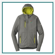 Eddie Bauer Men's Sport Hooded Full-Zip Fleece Jacket EB244 Custom